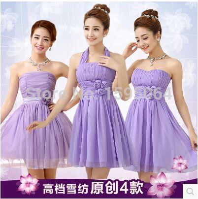 75425955513c 2015 new hot Wedding bridesmaid dress Tee short paragraph tutu Bridesmaid  group Sisters skirt Halter Dresses Free shipping