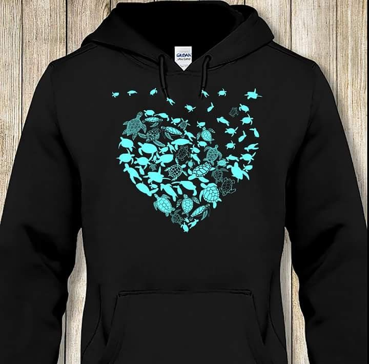 2709e203 Awesome Turtle Hoodie   turtle   Turtle clothes, Turtle shirts, Cute ...