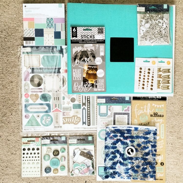 My First Project Life supplies!