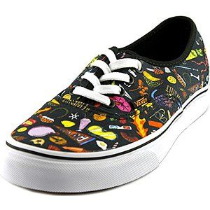 f12fbbad90f025 Vans Unisex Authentic (Truth) Black True White Sneakers