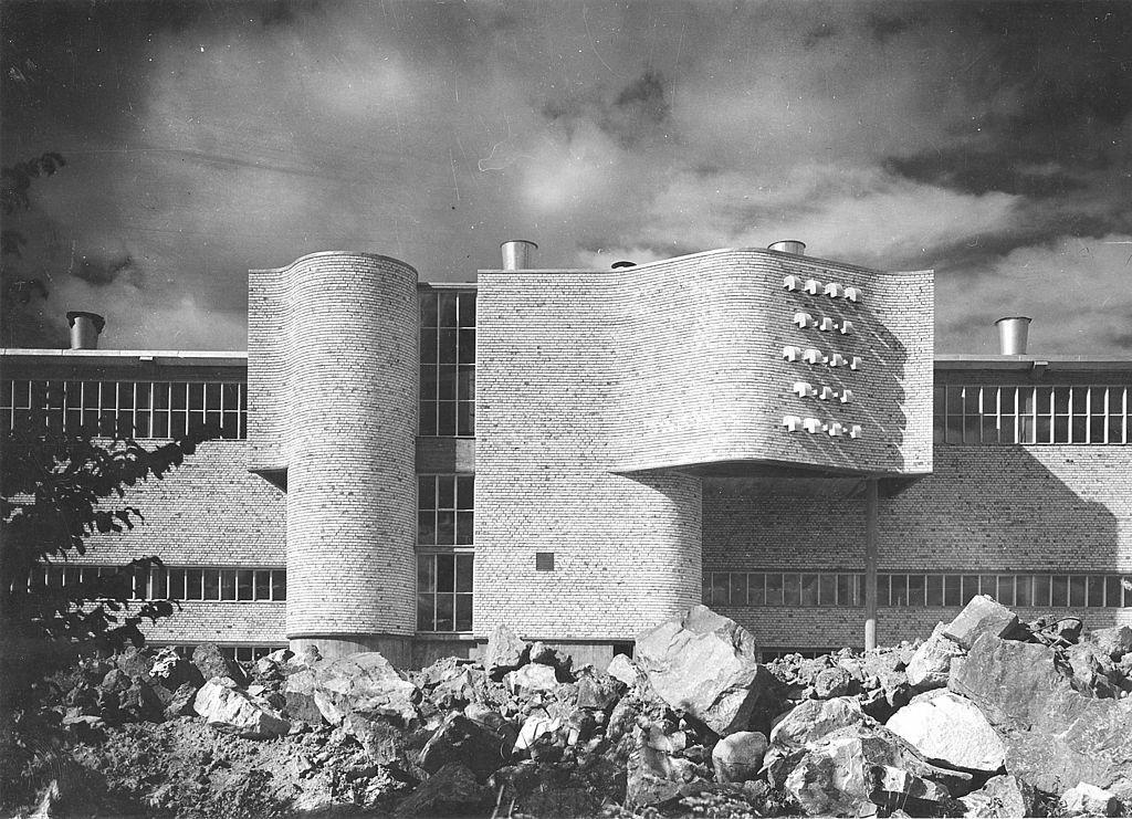 Cardboard Factory 1950 53 In Fors Sweden By Ralph Erskine