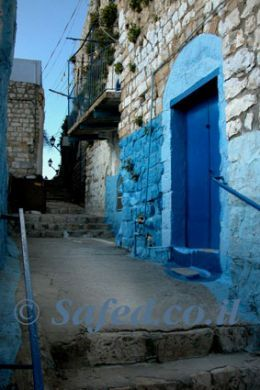Israel's Mystical Blue City of Safed (Tzfat)