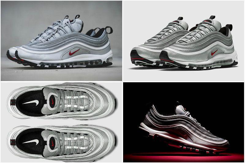 Mens Nike Air Max 97 OG QS 'Silver
