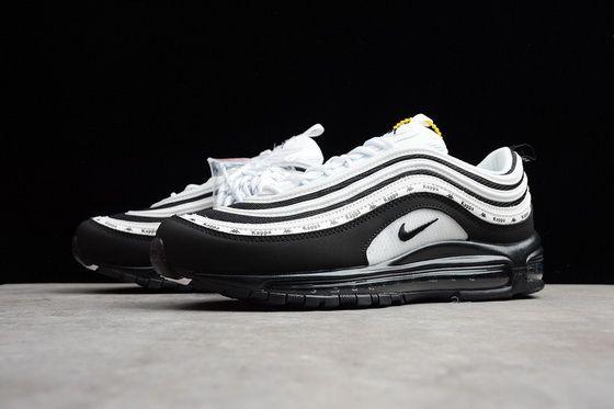timeless design 025d4 ab162 Kappa X Nike Air Max 97 Oreo White Black 2018 Original Sneaker