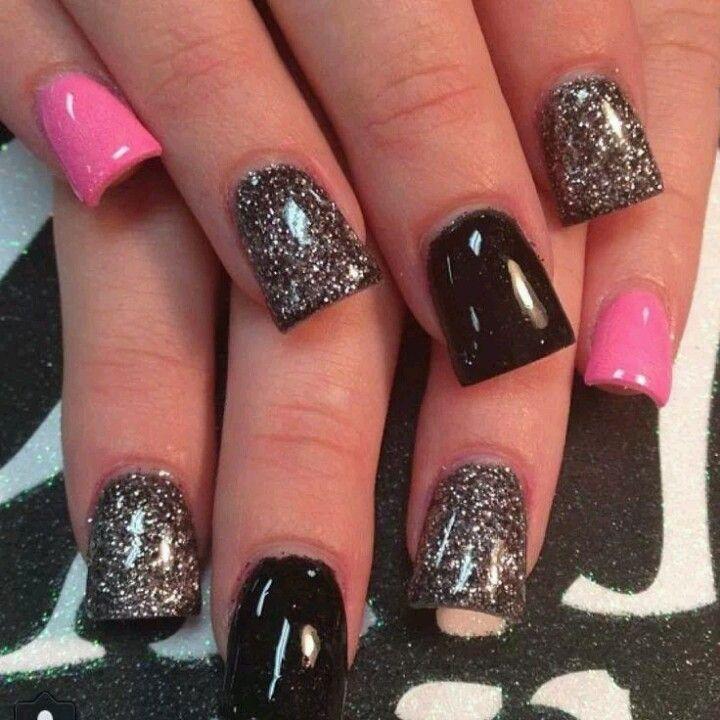 nails die pink