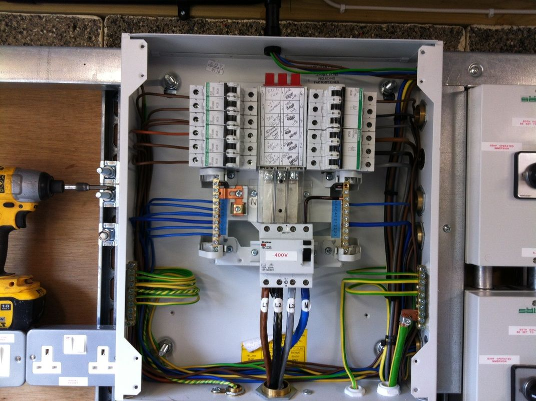 We Provide Certified Insured And Professional Commercial And Domestic Electrical Installation In Palmers Green C Installation Electricity Wire Management