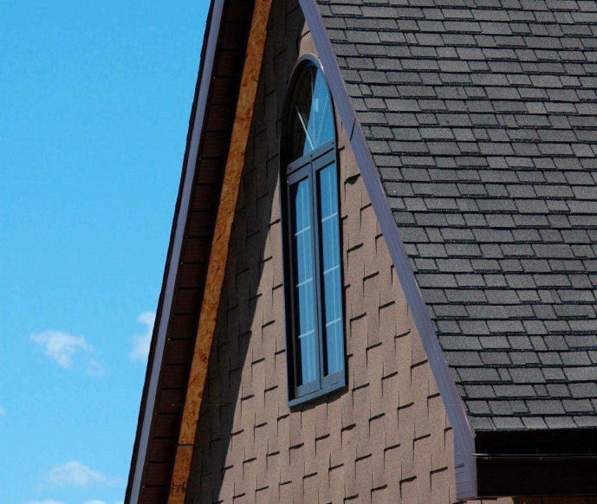 Interlocking shingles are simple, attractive wall siding