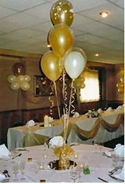 Lovely Use Wedding Balloons And Wedding Confetti For Cheap Wedding Table  Decorations
