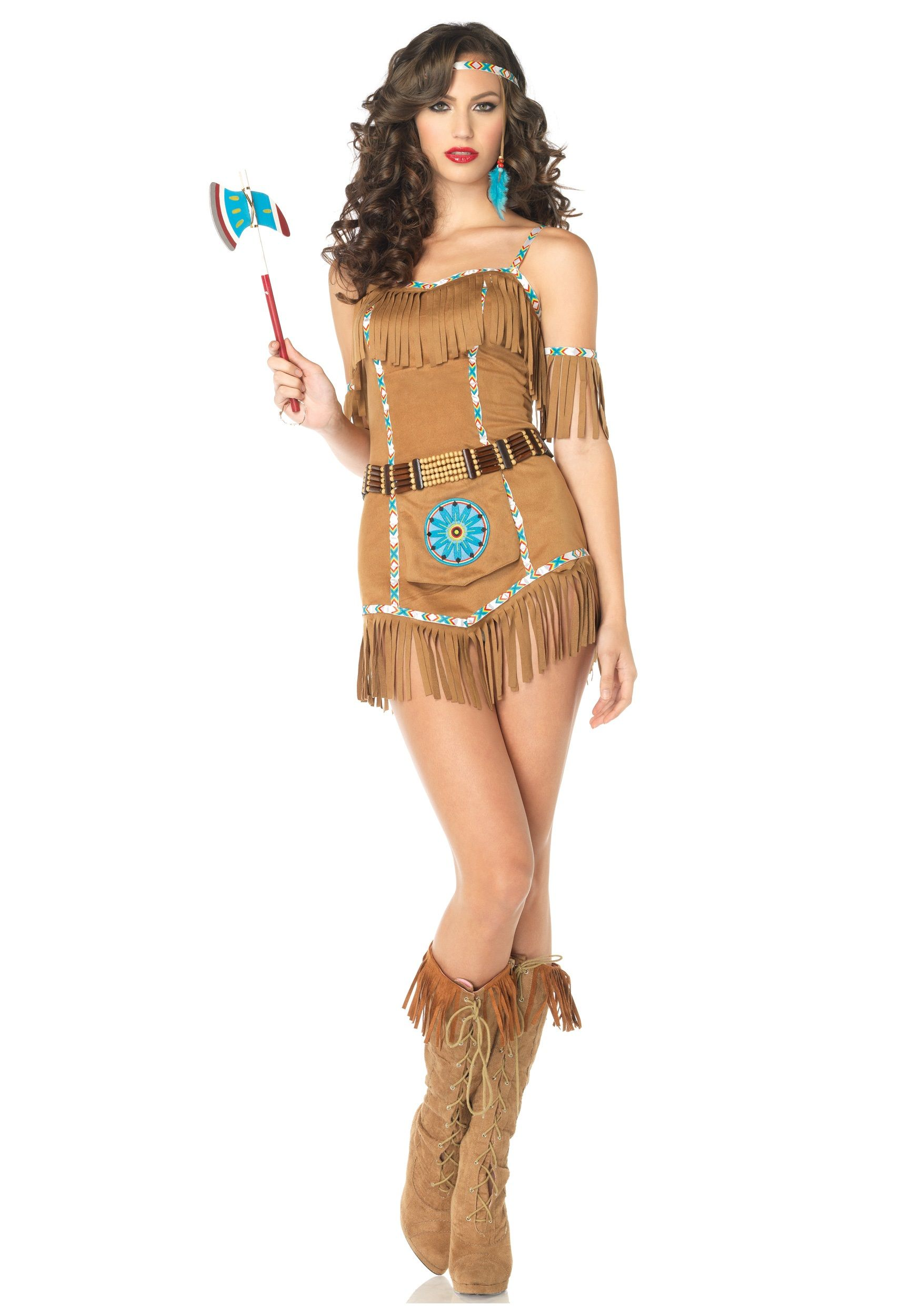 The point native american adult costume