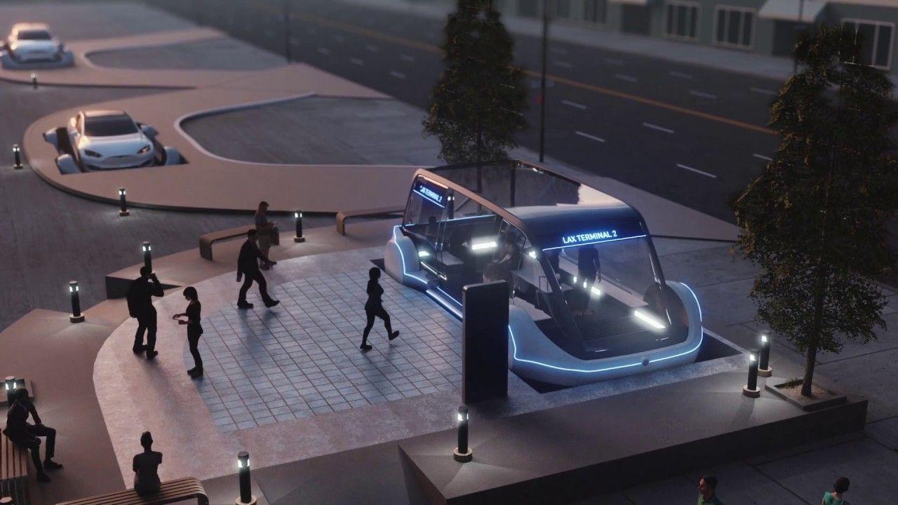 The Boring Company YouTube Elon musk, High speed rail
