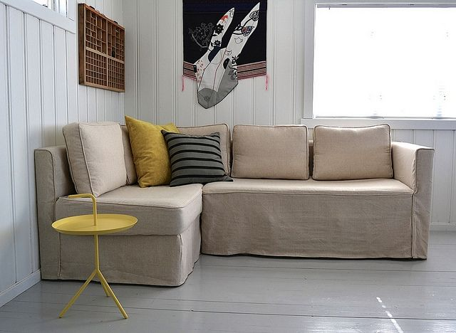 Fagelbo Sofabed Linen Vintage Slipcover Corner Sofa Bed With Storage Most Comfortable Sofa