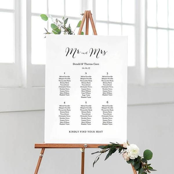DIY seating chart table plan template Easily make your own - seating chart templates