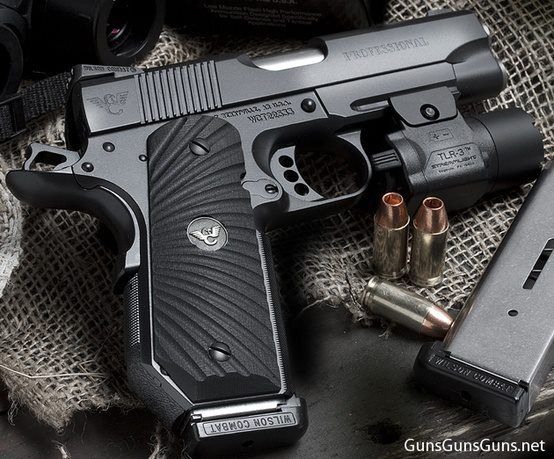 Wilson Combat - CQB - Lightweight Pro (.45ACP) although my preference would be NO LIGHT.