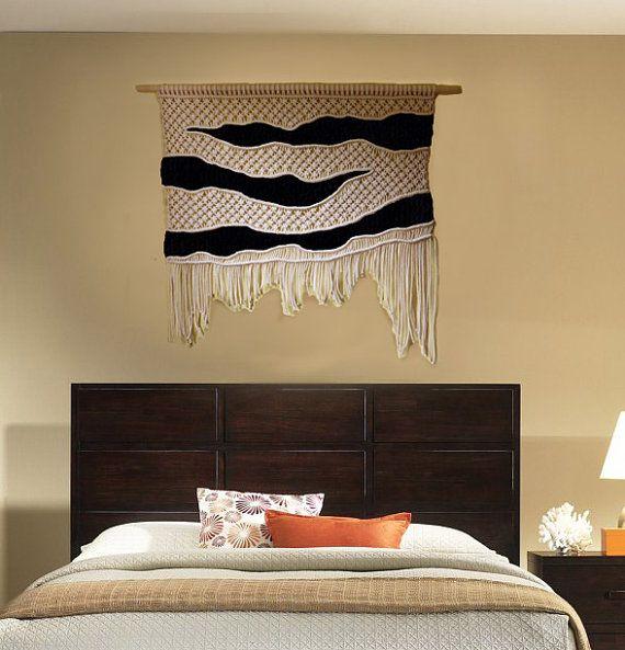 Algodón Macrame tejido macrame de decoración por MadeByMiculinko