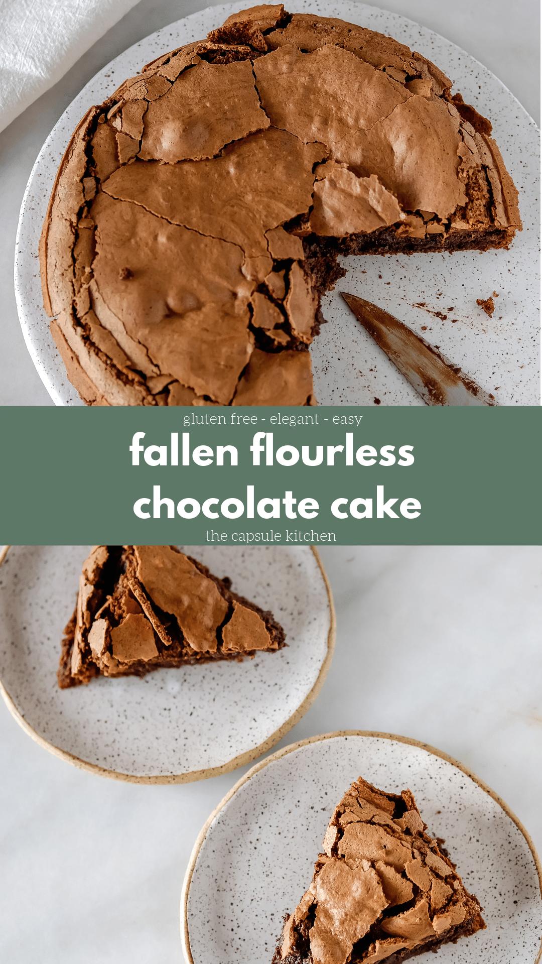Flourless Chocolate Olive Oil Cake | Mimi Newman