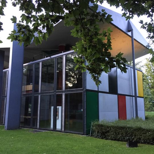 The Centre Le Corbusier, a Gesamtkunstwerk commissioned by Heidi Weber in Zurich (1967)