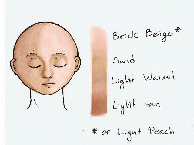 Image result for Prismacolor pencils color combination Skin ...