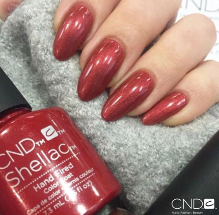 Pin by Anneloes on CND | Pinterest | Shellac colors, Shellac nail ...