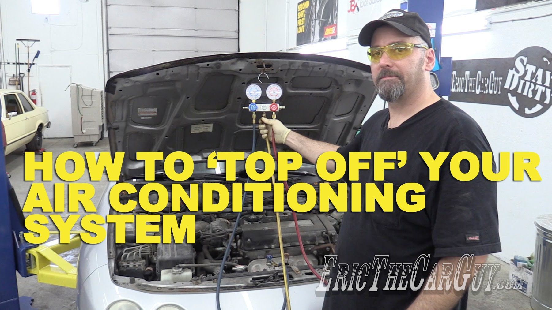 How To 'Top Off' Your AC System YouTube (With images
