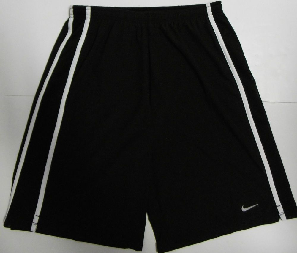 Nike drifit youths running shorts xl lined black rear