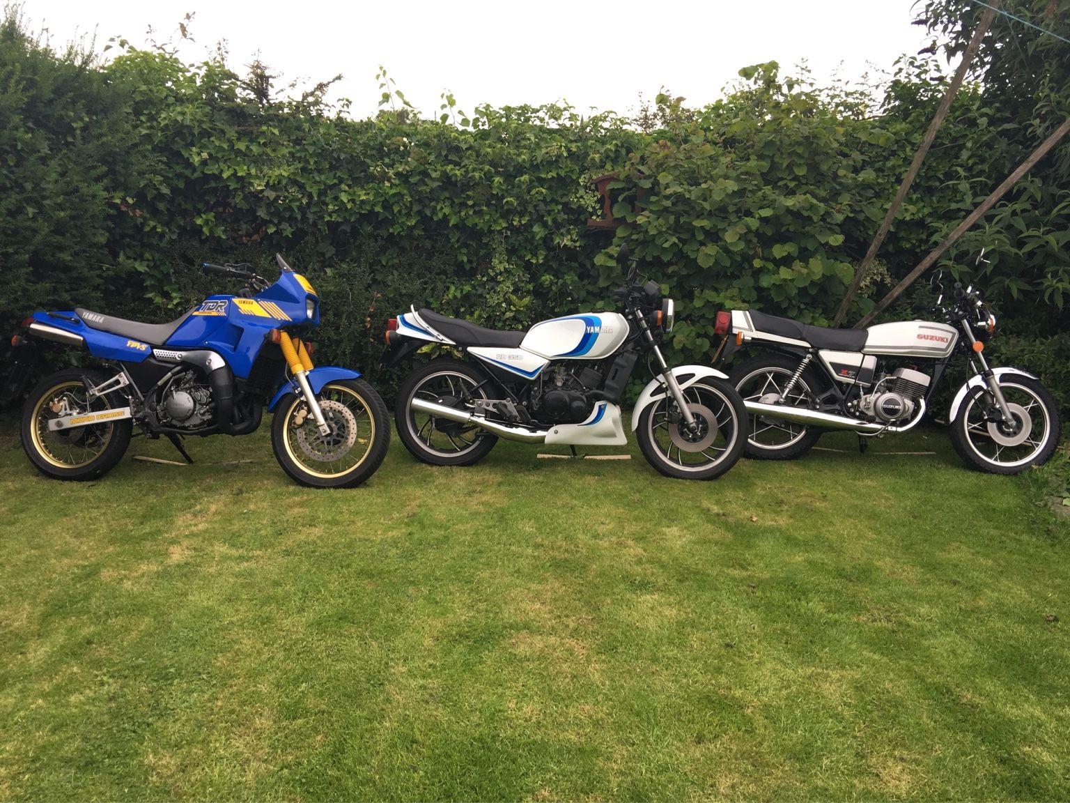 Just photos of everyones bikes, like a calendar.   The RD LC Crazy UK 2 Stroke Forum