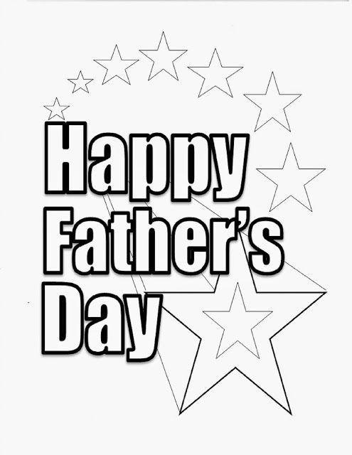 fathers day coloring pages printable | Father\'s Day | Pinterest