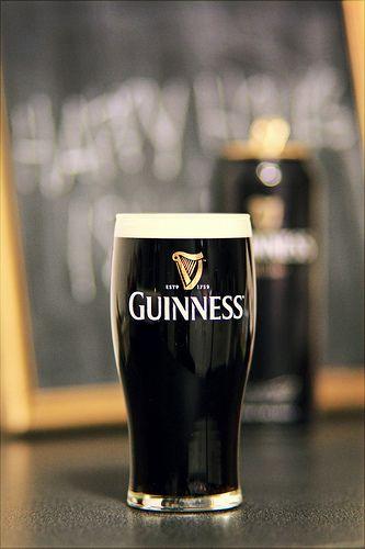 Guinness brewed in Dublin, Ireland.