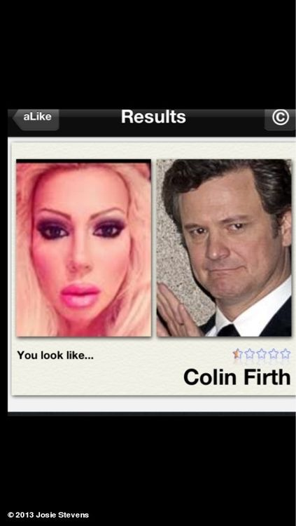 Was playing with this app that tells you who your looka