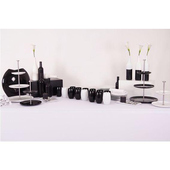 Pack de décoration buffet Noir et Blanc | Pack de décoration ...