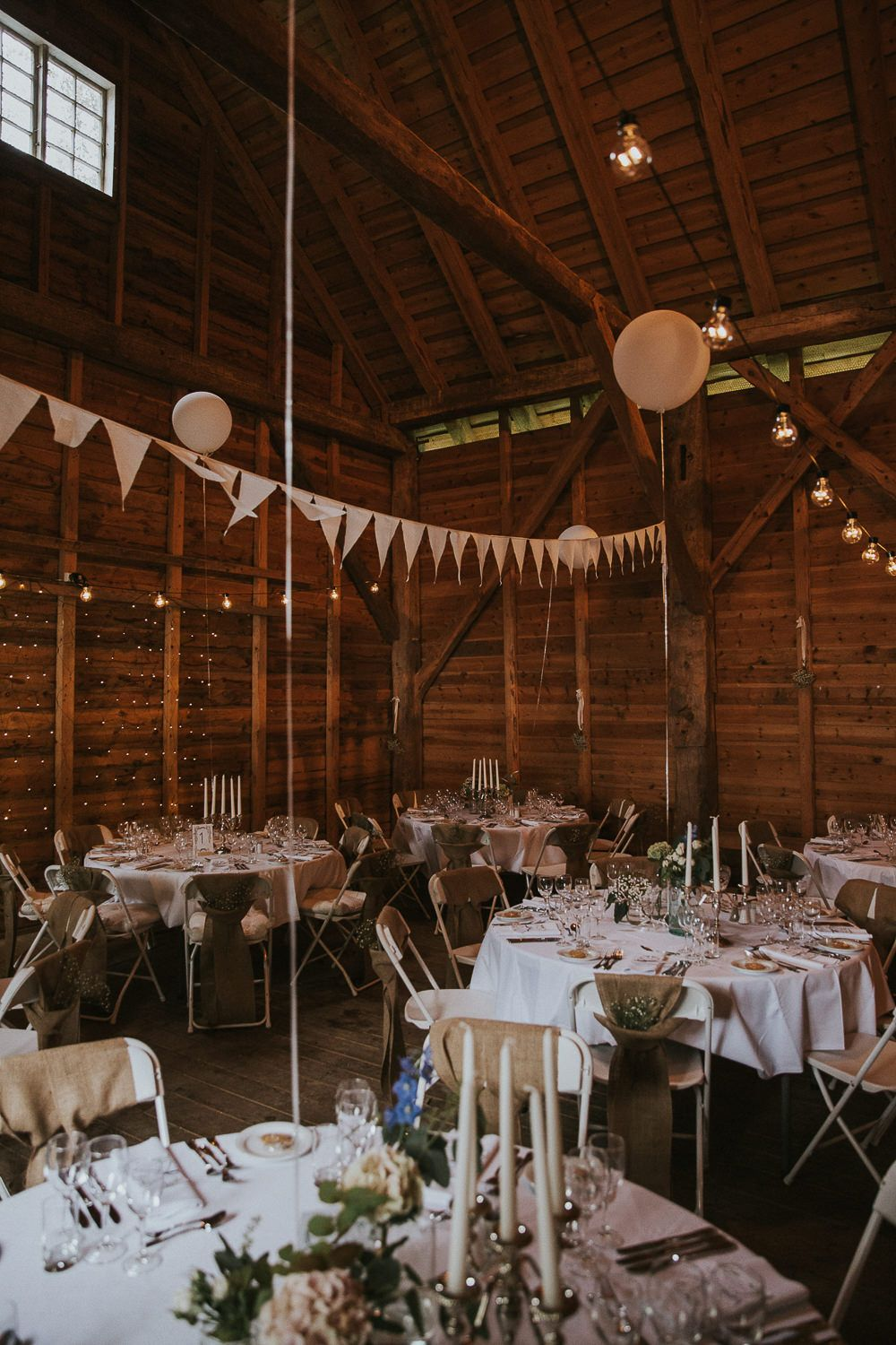 Wedding decorations for hall  Rustic Wedding in Norway with Willow By Watters uAmeliau Gown