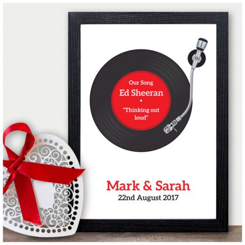 Details About PERSONALISED Wedding First Dance Song Record