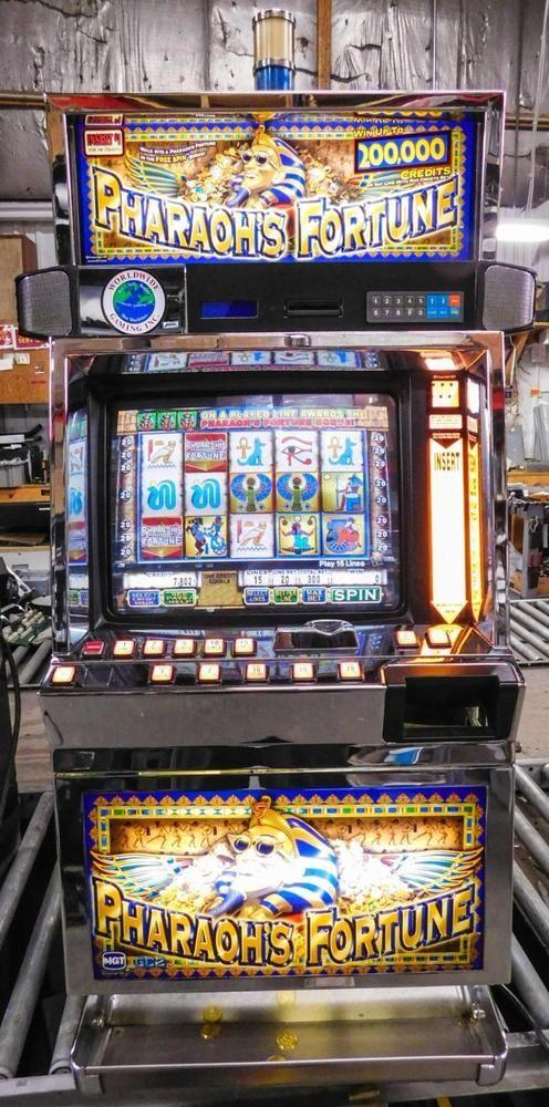 Slot machines pharaohs fortune