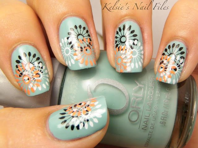 25 Colorful And Cute Nail Manicure Ideas For You | See more nail ...