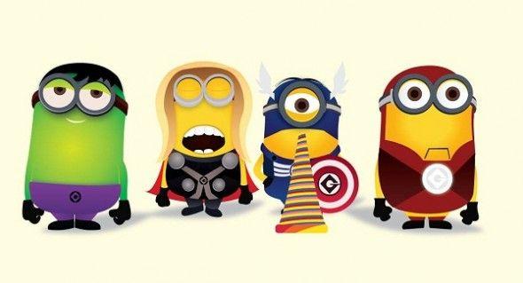 Si los minions fueran superhéroes