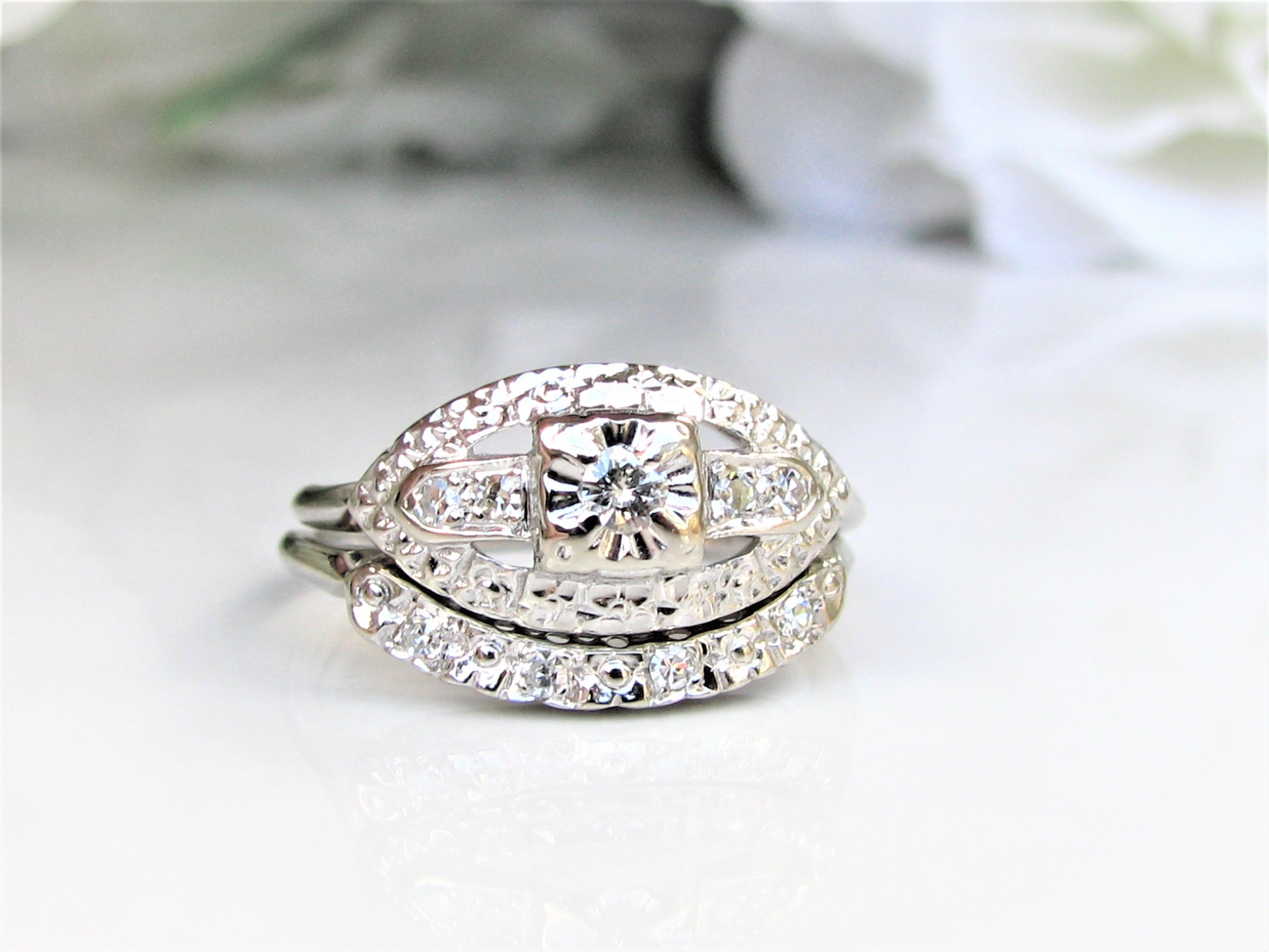and white very rambling european diamond in rose gold engagement art deco light vintage emerald rings accents california estate yellow filigree orange leaf ring cut