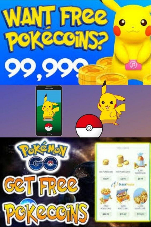 Free pokecoins pokemon go coins hack cheat pokemon go