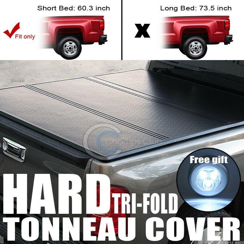 Sponsored Ebay Tri Fold Hard Tonneau Cover Trunk Lid Jr For 05 15