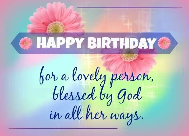 Christian Birthday Wishes Messages Greetings And Images Happy Lovely Happy Birthday Wishes Quotes