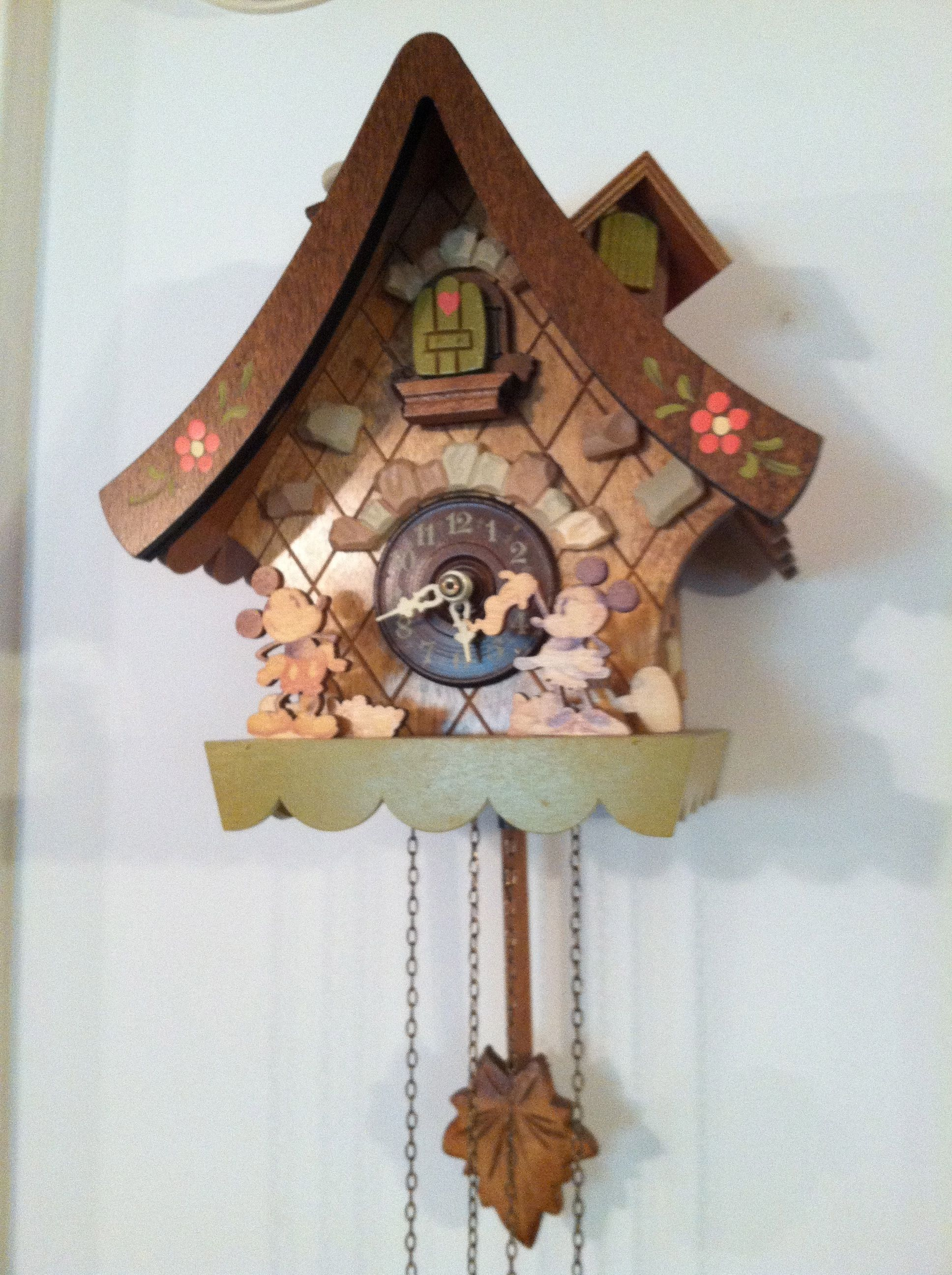 Mickey and Minnie Cuckoo Clock | A Few Of My Favorite Things ...