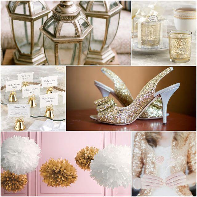 Wedding Favors Candle Place Card Holders Golden Renaissance Glass Tealight