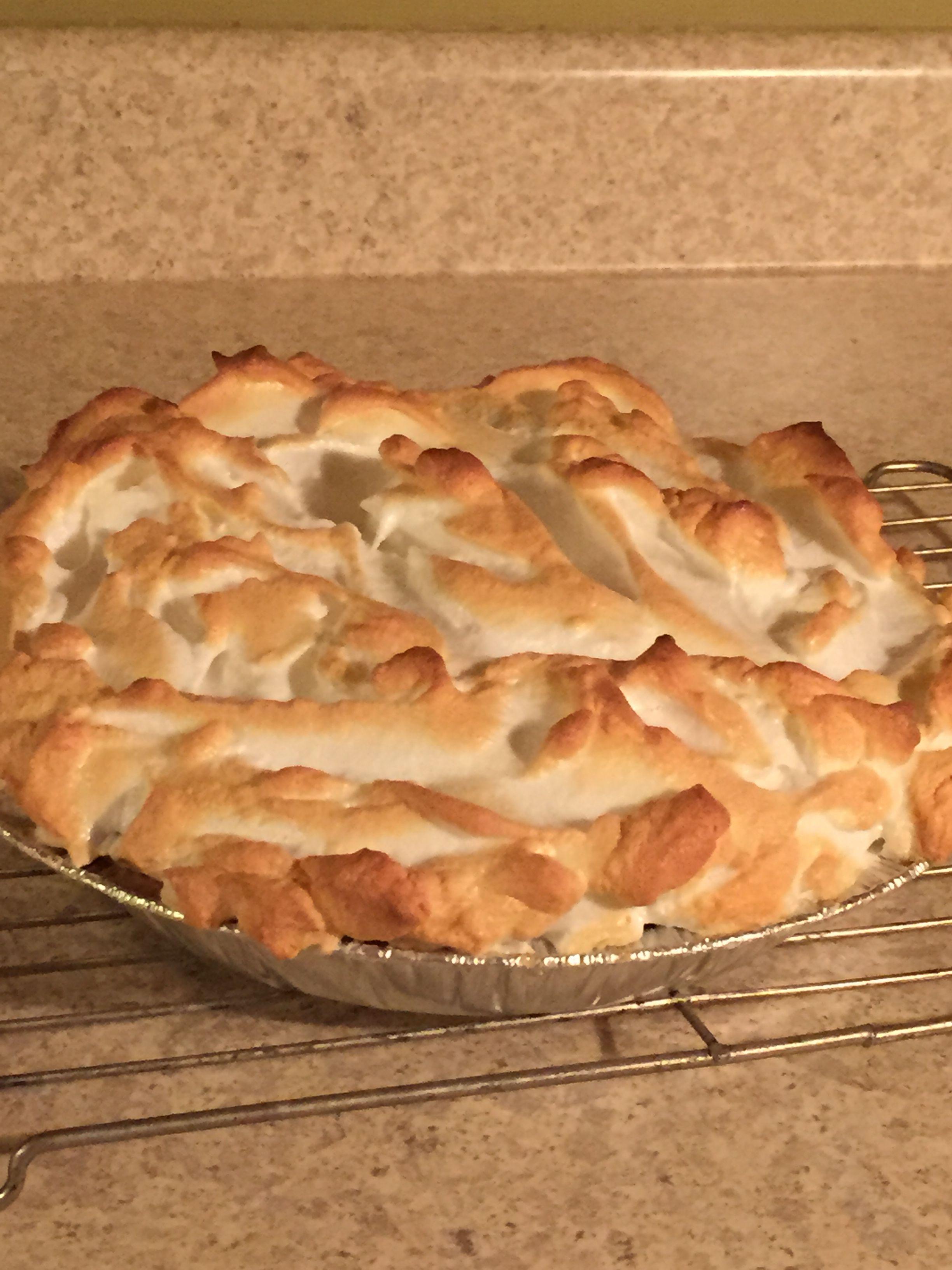 Lemon Meringue pie - homemade