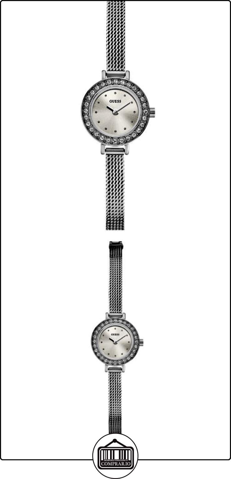 bb78d7984724 Guess W0133L1 - Reloj analógico de cuarzo para mujer con correa de acero  inoxidable