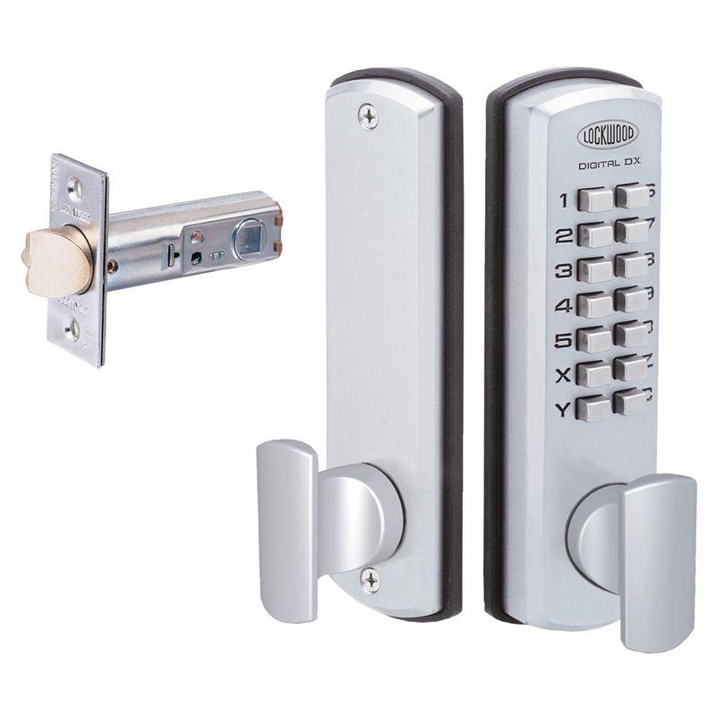 Tackroom door lock Lockwood 530 Digital DX Lockset With Keypad Door ...
