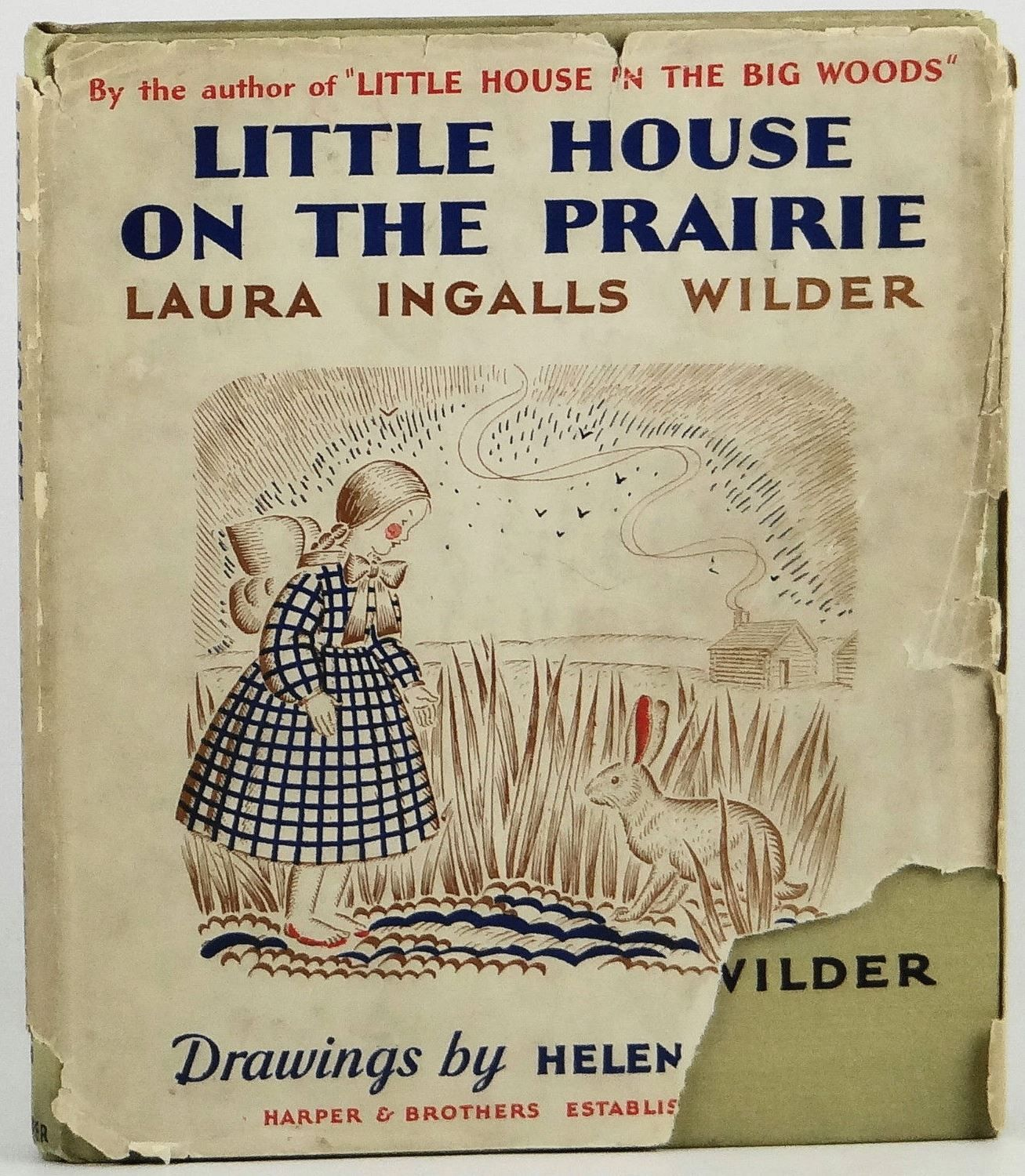 Vintage Children S Books Little House On The Prairie By Laura