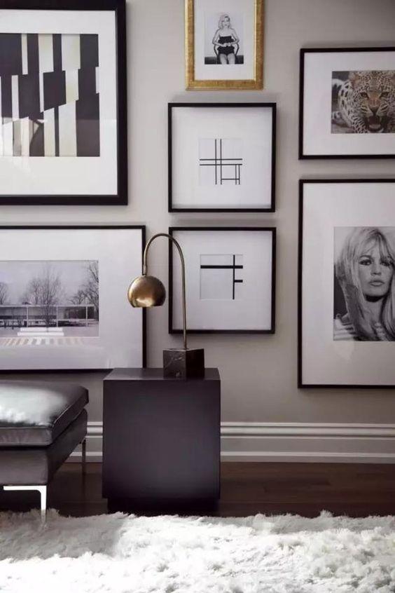 Come disporre i quadri in un ambiente contemporaneo? Copia