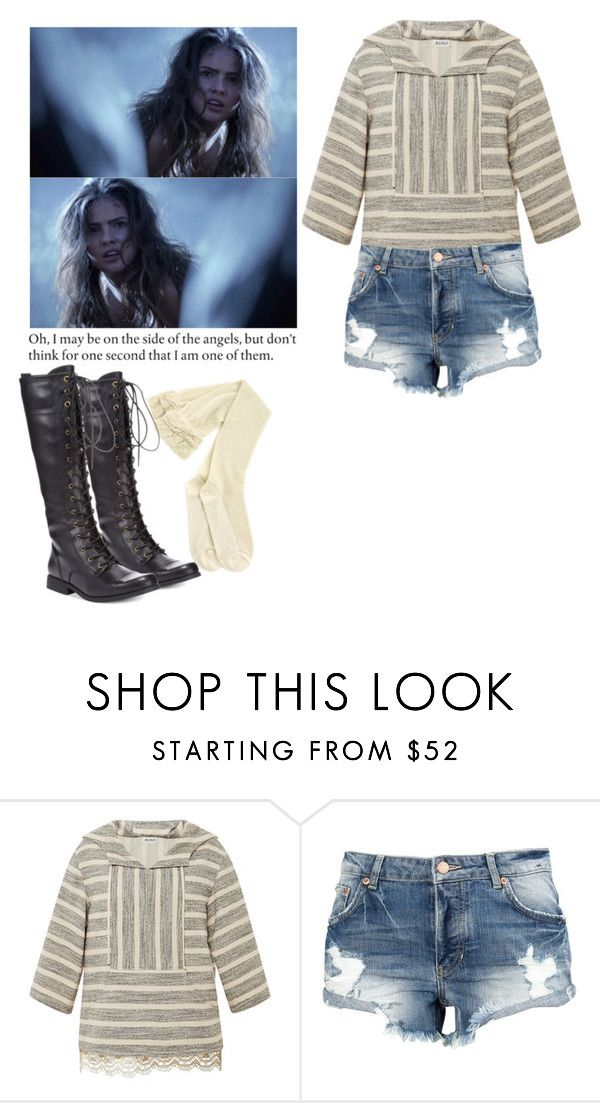 """""""Malia Tate - tw / teen wolf"""" by shadyannon ❤ liked on Polyvore featuring SUNO New York and XOXO"""