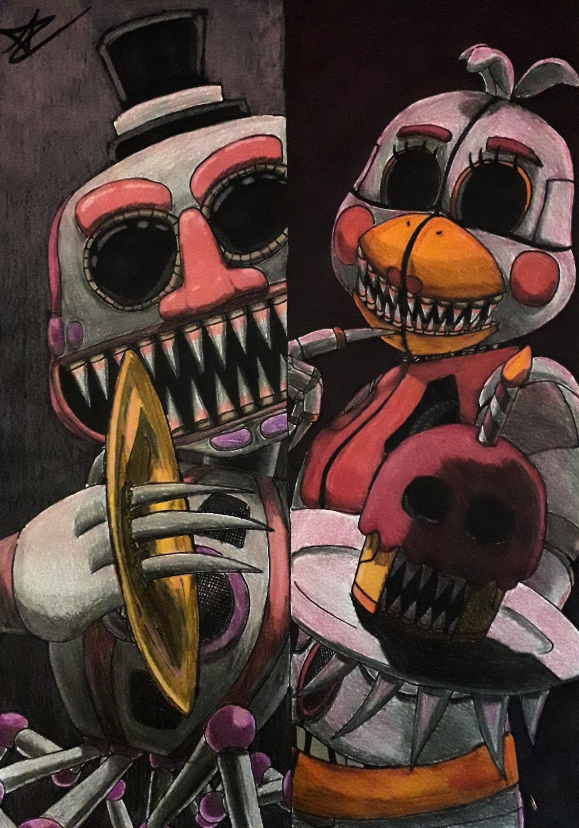 Sinister Music Man Sinister Funtime Chica For My Friend