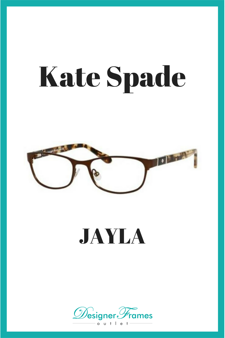 eeb3afb3f11c Kate Spade JAYLA get this great pair of frames and other name brands at Designer  Frames Outlet. Prescription Lenses available.