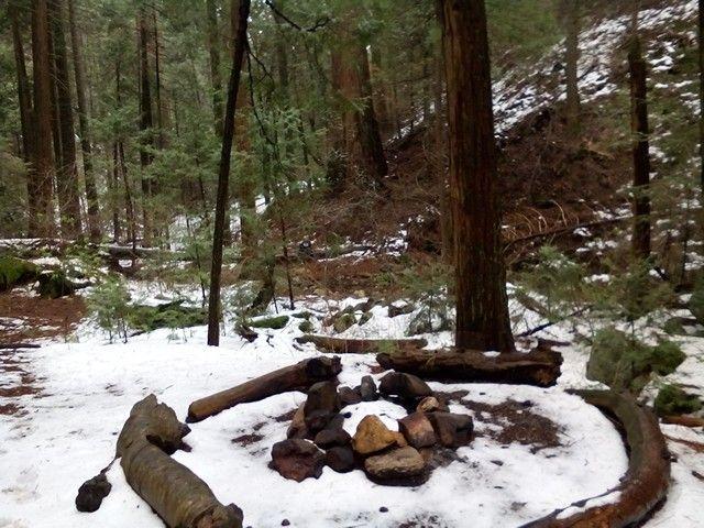 Whiskey log camp