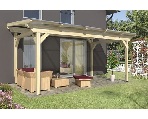 skanholz terrassenuberdachung, terrassenüberdachung skan holz sanremo 541x300 cm natur | terrasse, Design ideen